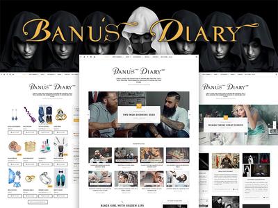 Banu - A Blog Shop WordPress Theme