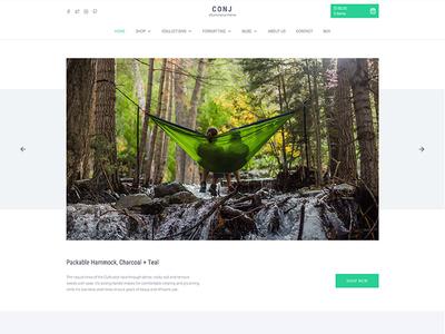 CONJ - Camping WordPress Theme