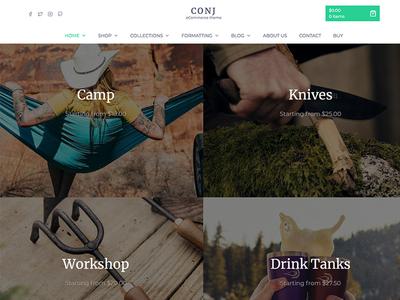 Conj - eCommerce WordPress Theme