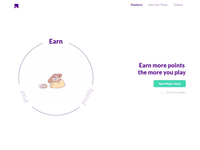 Crypto profit landing page