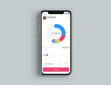 Finance app app design app ui design uxdesign ux uidesign design webdesign branding ui