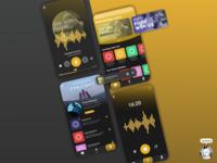 Podcast App UI Concept design music player music app podcast uiux ui design