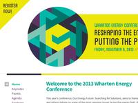 Wharton Energy Conference 2013