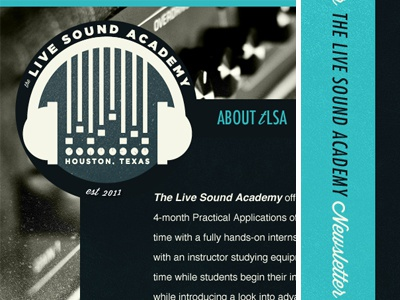 Sound Engineering Website - V2