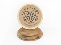 Lovebirds Rebrand Sticker 3.5x3.5
