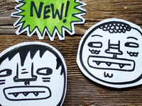 Monster Butthead Stickers