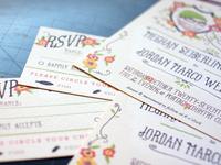 Wedding Invitation -- Test Prints!
