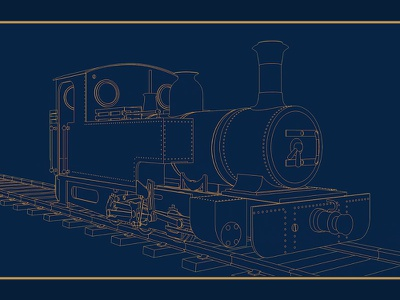 Biggest Little Railway Motion Graphics doc tv train cell shaded 3d c4d cinema 4d motion graphics