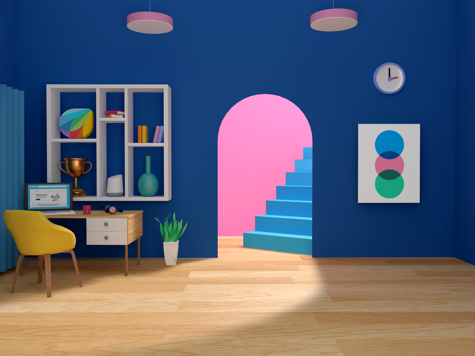 Zoom Virtual Background By Freshworks On Dribbble