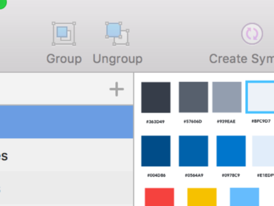 Ui Kit In Sketch components ui patterns sketch