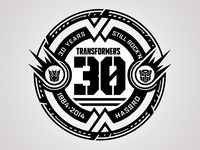 Transformers 30 Year Badge
