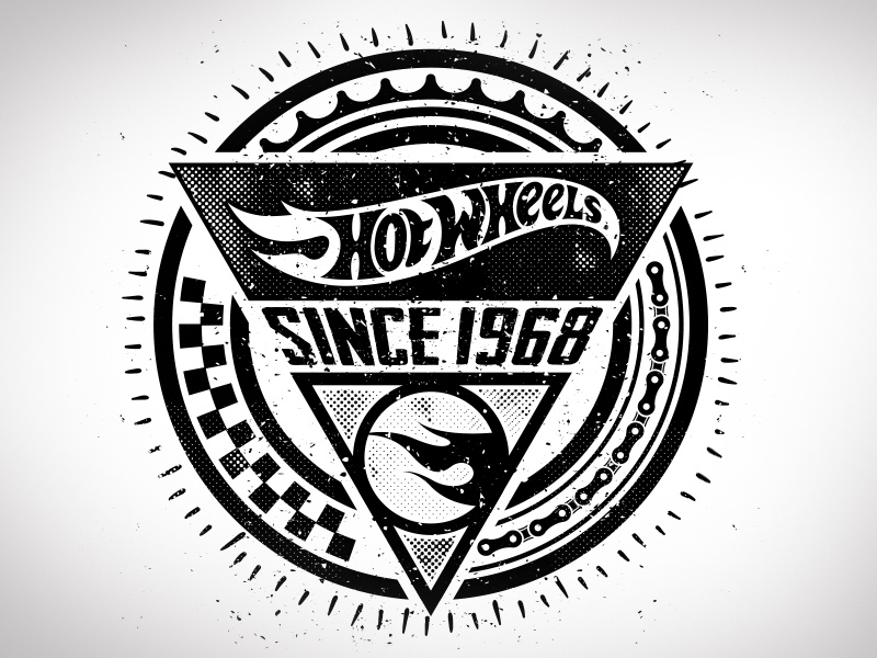 Hot Wheels Badge By Dan Janssen Dribbble