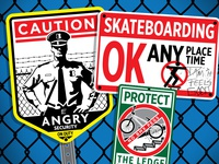 Blind Skateboards Sign series
