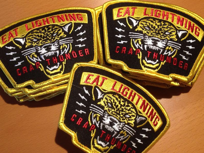 Eat Lightning Patch