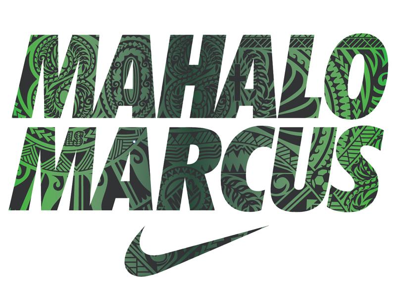 Nike Marcus Mariota tee and pattern design football shoes pattern nike
