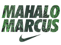 Nike Marcus Mariota tee and pattern design