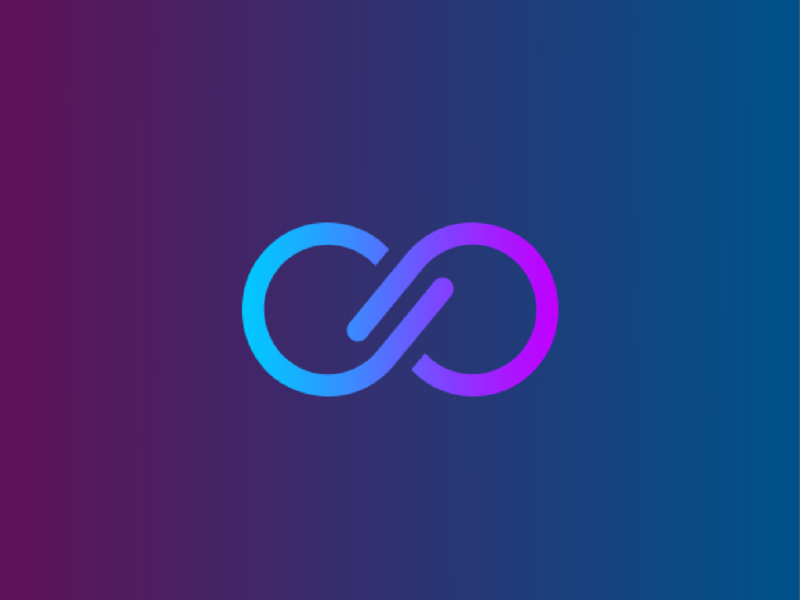 Infinity logo logotype design branding vector logo infinity infinity logo