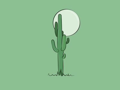 Cactus graphicdesign digital painting digitalart creative artwork vectorart vector illustration graphic design design