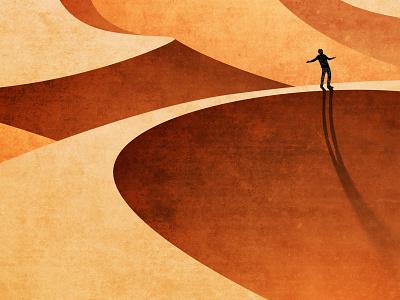 Lost & Alone 1 vector procreate photoshop illustration illustrator digital illustration