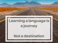Language Learning is a Journey
