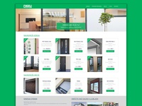 Door manufacturer ecommerce website
