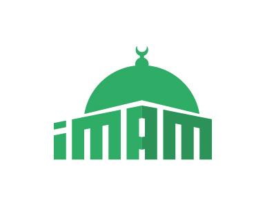 Logotype IMAM construction simple brand identity type vector great icon logotype illustration