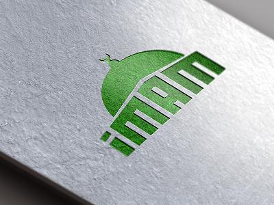 Logo Imam vector type identity brand simple logotype illustration icon great construction