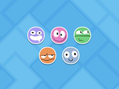 Default avatars