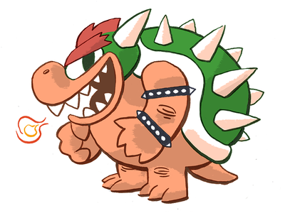 Bowser, King of the Koopa
