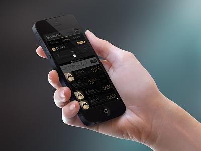 Nespresso Mobile Redesign ui nespresso mobile