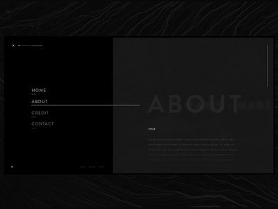 DI—About site page web experience interactive webdesign ux ui