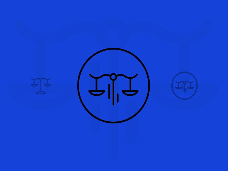 Legal Icon stroke line icons iconography icon glyph