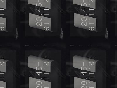 Recursive–01 minimal art experience poster