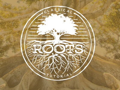 Roots Classical Tutorial typography tennessee logo icon branding illustration design