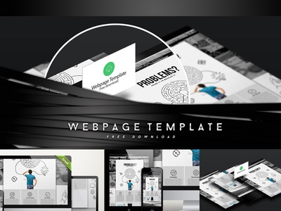 Webpage template free download