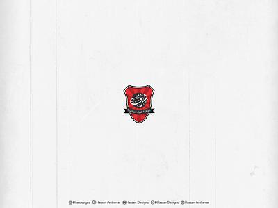 Charaf Sports Association -الجمعية الرياضية شرف illustration arabic vector logo calligraphy and lettering artist branding design typography typography design