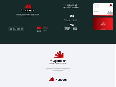 Hupcom Creative Agency Logo logodesign symbol agency website uiux ui illustration branding logo design graphic design agency graphicdesign creative agency logo