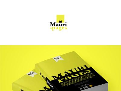 Mauripages Logo Design - logo presentation on behance illustration vector logo arabic calligraphy artist typography calligraphy branding typography design calligraphy and lettering artist