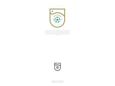 Minimal Logo - Soccer team illustration design vector arabic calligraphy artist calligraphy branding typography design calligraphy and lettering artist typography