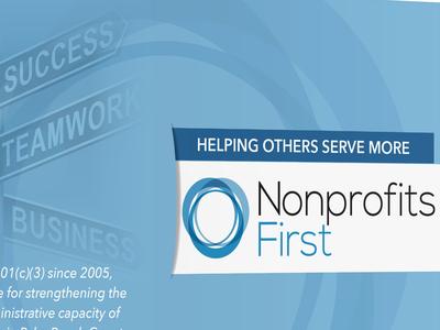 Nonprofits First membership drive brochure