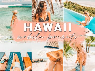 Hawaii Summer Mobile Lightroom Blogger Presets