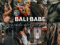 Bali Babe Mobile Lightroom Presets