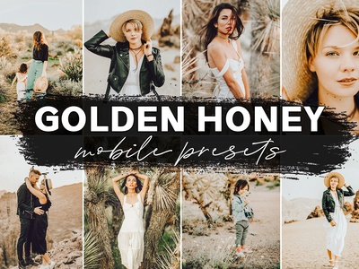 Lightroom Presets - Honey Warm Lightroom Mobile Presets