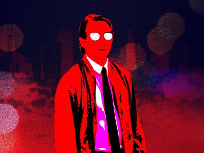 Nightcrawler Dribbble nightcrawler jake gyllenhaal design poster film