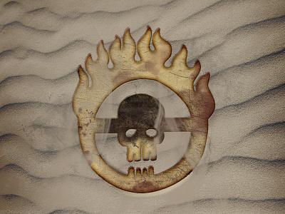 Mad Max: Fury Road logo skull design branding icon fury road mad max
