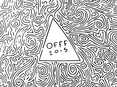 OFFF 2015 Doodle vector adobe shape sketch barcelona offf 2015 offf15 doodle
