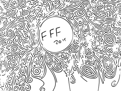 OFFF 2015 Doodle 2 vector adobe shape sketch barcelona offf 2015 offf15 doodle