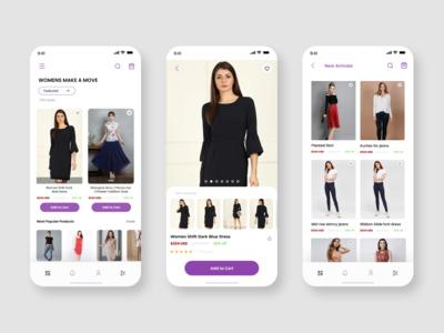 Online Shopping UI