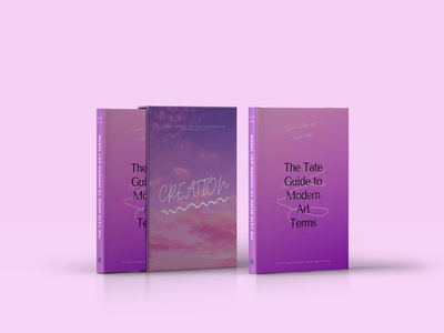 Book about creativity pink poligraphy indesign cover photoshop books book font typography style design