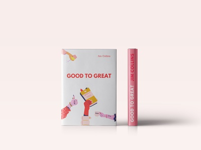 Good to Great cover design poligraphy cover photoshop books book font typography style design